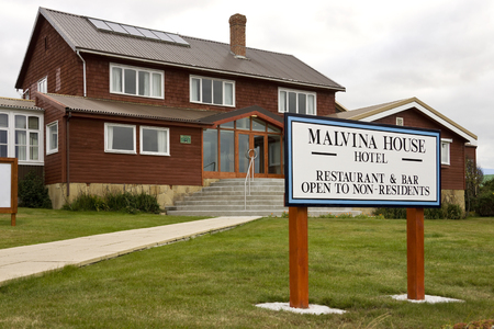 port stanley: Malvina House Hotel in Stanley in the Falkland Islands