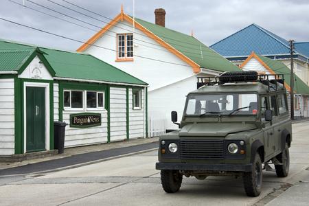 port stanley: Port Stanley in the Falkland Islands