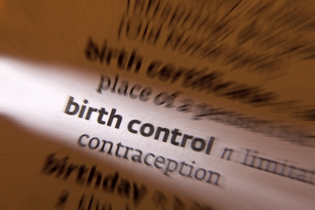 Birth Control - the practice of preventing unwanted pregnancies, typically by use of contraception. Stock Photo - 22368167