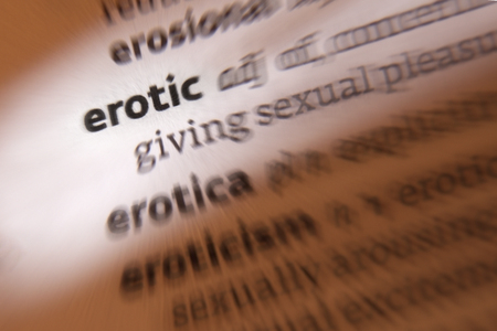 Erotic - relating to, or tending to arouse sexual desire or excitement