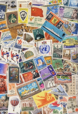 philately: Postage Stamps of the world - Stamp Collecting or Philately