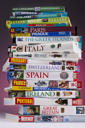 European travel guides to Europe