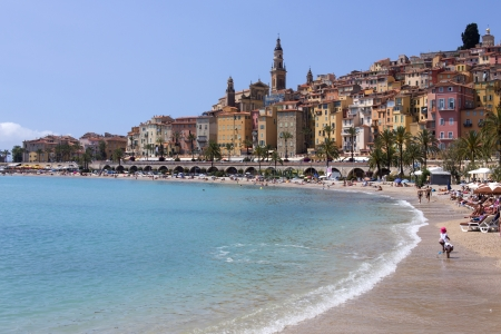 menton: The resort of Menton on the French Riviera in the South of France