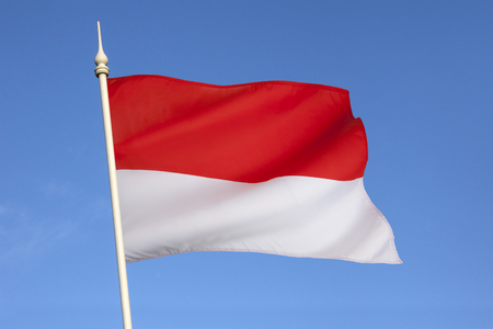 merah: The national flag of Indonesia, which is known as Sang Saka Merah-Putih was introduced and hoisted in public at the Indonesian Independence Day ceremony, on 17 August 1945  The design of the flag has remained the same ever since
