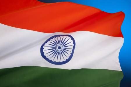 dominion: The National flag of India was adopted in its present form during a meeting of the Constituent Assembly held on 22 July 1947, when it became the official flag of the Dominion of India  The flag was subsequently retained as that of the Republic of India  Stock Photo