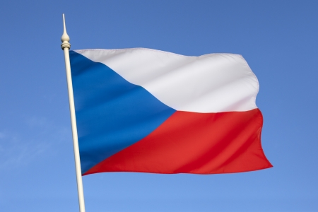 czechoslovak: The national flag of the Czech Republic is the same as the flag of the former Czechoslovakia  Upon the dissolution of Czechoslovakia the Czech Republic kept the Czechoslovak flag while the Slovak Republic adopted its own flag  Stock Photo