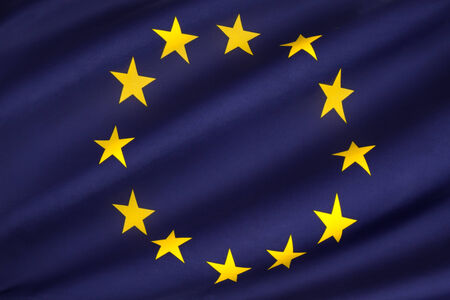 loosely: The flag of Europe is the emblem of the Council of Europe and the European Union  It is also often used to indicate eurozone countries, and, more loosely, to represent the continent of Europe