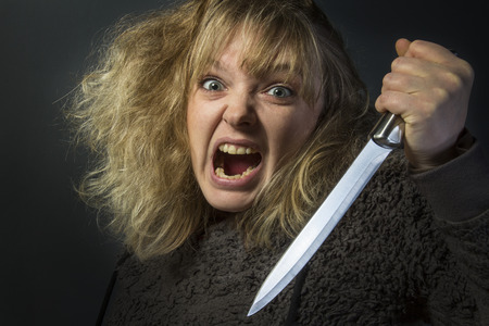 merciless: A psychotic young woman - domestic violence