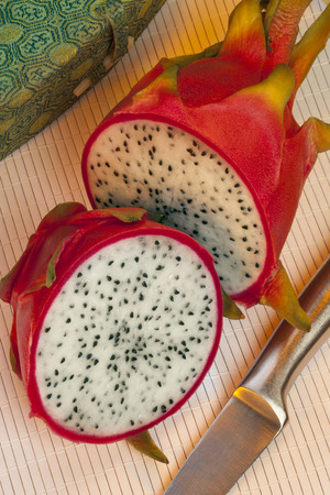 cactus species: A pitaya or pitahaya is the fruit of several cactus species  Pitaya usually refers to fruit of the genus Stenocereus, while Pitahaya or Dragonfruit always refers to fruit of the genus Hylocereus
