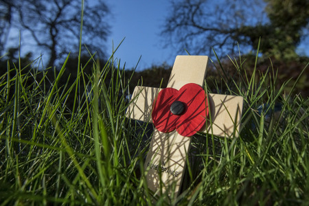 Remembrance - a memorial day observed in the Commonwealth of Nations member states since the end of the First World War to remember the members of their armed forces who have died in battle. The 11th hour of the 11th day of the 11th month. Standard-Bild
