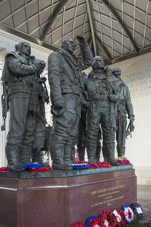 The Royal Air Force Bomber Command Memorial is a memorial in Green Park in London, commemorating the aircrews of RAF Bomber Command who embarked on missions during the Second World War.