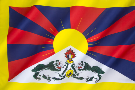 introduced: The Tibetan flag or snow lion flag, was a flag of the military of Tibet, introduced by the 13th Dalai Lama in 1912 and used until the Chinese invasion of 1959. Since the 1960s, it is used as the symbol of the Tibetan independence movement.