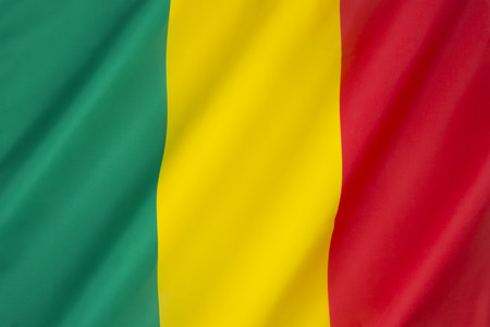 landlocked: Flag of Mali - adopted on March 1 1961. Mail is a landlocked country in West Africa