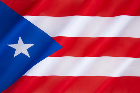 puerto rican: Flag of Puerto Rico - The origins of the current flag, adopted by the commonwealth of Puerto Rico in 1952, can be traced to 1868, when the first Puerto Rican flag -The Revolutionary Flag of Lares was used in the short-lived Puerto Rican revolt against Spa