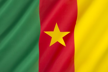 unitary: Flag of Cameroon - adopted in its present form on 20th May 1975 after Cameroon became a unitary state. The color scheme uses the traditional Pan-African colors.