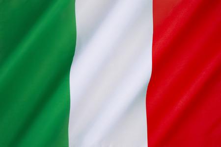 italian flag: La bandera nacional de Italia - La bandera actual ha estado en uso desde el 19 de junio de 1946 y fue adoptado oficialmente el 01 de enero 1948.