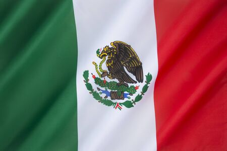 The national flag of Mexico, was adopted in 1968, although the overall design has been used since 1821, when the First National Flag was created.