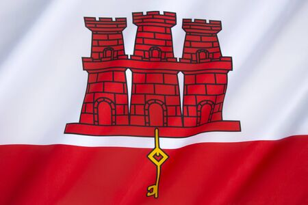 queen isabella: Flag of Gibraltar - The coat of arms of Gibraltar, granted by Royal Warrant from Queen Isabella 1st of Castile on 10 July 1502. Gibraltar is a British overseas territory near the southern tip of the Iberian peninsula.