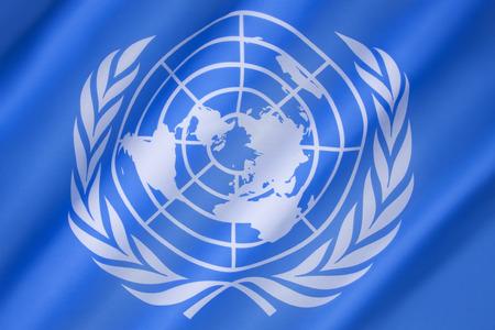 유엔의 국기 - 1947 년 10 월 20 일에 채택되었으며, 창백한 파란색 바탕에 유엔의 공식 상징으로 구성됩니다. 에디토리얼