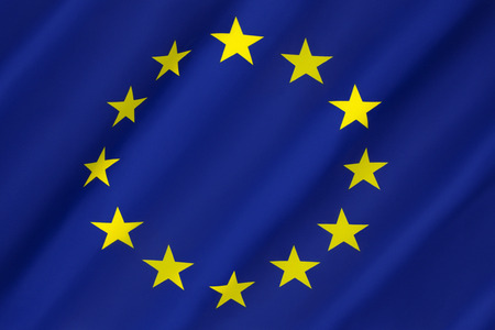 eurozone: Flag of Europe - The flag and emblem of the Council of Europe and the European Union. It is also often used to indicate eurozone countries. Adopted 8th December 1955.