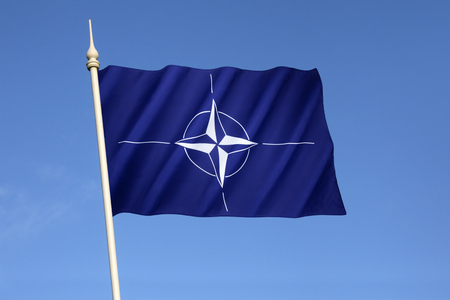 north atlantic treaty organization: Flag of the North Atlantic Treaty Organization (NATO) - Adopted three years after the creation of the organization, it has been the flag of NATO since October 1953.