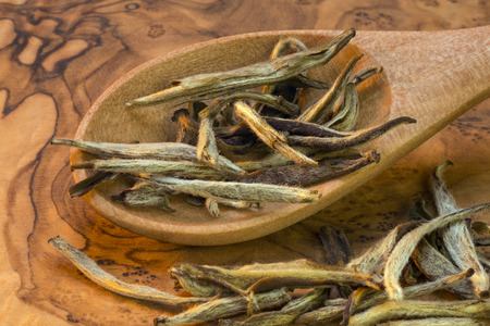 solely: Chinese Green Tea is tea that is made from unfermented leaves and is pale in color and slightly bitter in flavor, produced mainly in China and Japan. Green tea is made solely with the leaves of Camellia sinensis that have undergone minimal oxidation durin