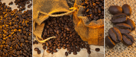 coffea: Coffee Beans - Coffee is a brewed beverage prepared from the roasted seeds of several species of an evergreen shrub of the genus Coffea.