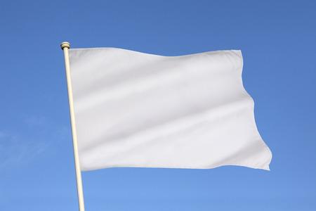 백기 항복, 휴전, 또는 팔리하는 욕망의 국제적으로 공인 된 상징이다. 스톡 콘텐츠