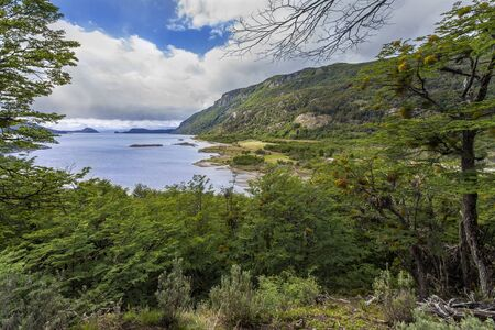 strait of magellan: Tierra del Fuego - Argentina. An island at the southern extremity of South America, separated from the mainland by the Strait of Magellan. Discovered by Ferdinand Magellan in 1520, it is now divided between Argentina and Chile.