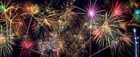 guy fawkes night: Fireworks Display - Pannello intestazione sito Archivio Fotografico