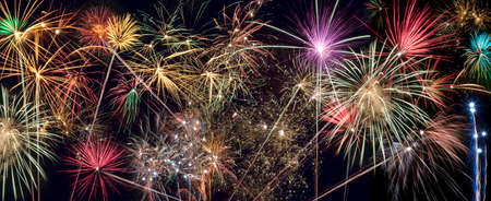 guy fawkes night: Fireworks Display - website header panel