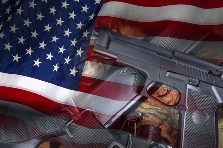 United States Gun Laws - Guns and weapons Stok Fotoğraf - 47112488