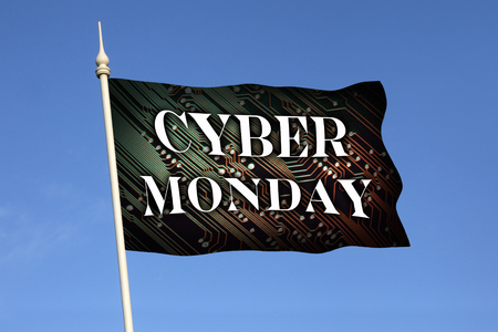 bargain for: Cyber Monday is a marketing term for the Monday after the Thanksgiving holiday in the United States. The term Cyber Monday was created by marketing companies to persuade people to shop online.
