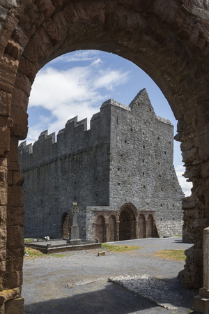 county kerry: The ruins of Ardfert Cathedral in County Kerry in the Republic of Ireland. Ardfert was the site of a Celtic Christian monastery reputedly founded in the 6th century by Saint Brendan.
