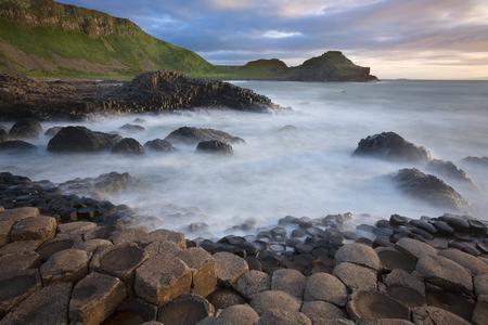 northern ireland: The Giants Causeway in County Antrim in Northern Ireland.
