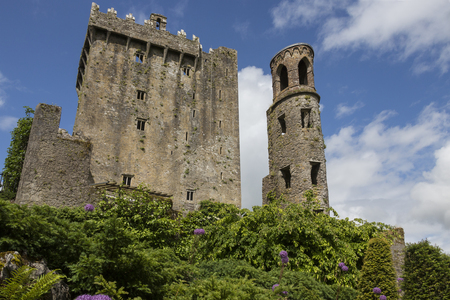 stronghold: Blarney Castle is a medieval stronghold in Blarney, near Cork, Ireland. The castle originally dates from before 1200, when a timber house was believed to have been built on the site, although no evidence remains of this. Around 1210 this was replaced by a Editorial