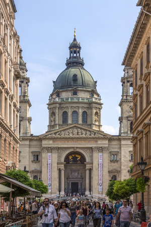 stephen: St. Stephens Basilica is a Roman Catholic basilica in Budapest, Hungary. Named in honour of Stephen, the first King of Hungary (975�1038), whose incorruptible right hand is housed in the reliquary. The architectural style is Neo-Classical.