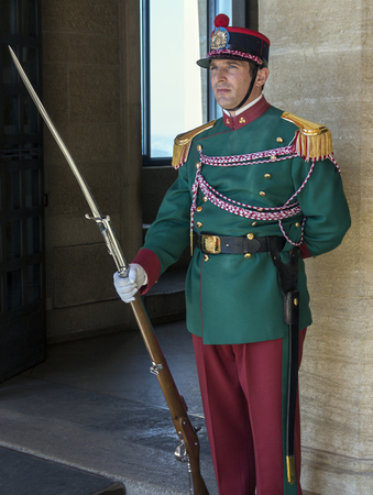 border patrol: Republic of San Marino - Guard of the Rock - The Guard of the Rock is a front-line military unit in the San Marino armed forces, a state border patrol, with responsibility for patrolling borders and defending them. In their role as Fortress Guards they ar