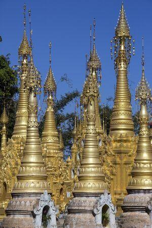 Hum Si Paya Buddhist temple near Taunggyi in Shan State in central Myanmar (Burma).