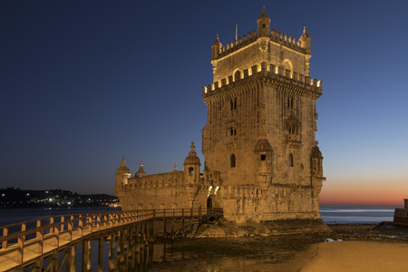 Belem Tower in Lisbon, Portugal ( Torre de Belem or the Tower of St Vincent). It is a UNESCO World Heritage Site because of the significant role it played in the Portuguese maritime discoveries of the era of the Age of Discoveries. The tower was commissio