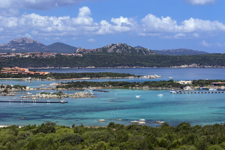 Baja Sardinia near Palau on the northeast coast of the Island of Sardinia - Italy