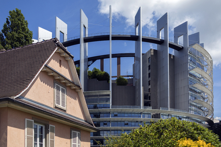 The European Parliament is the elected parliamentary institution of the European Union. Together with the Council of the European Union and the European Commission, it exercises the legislative function of the EU.