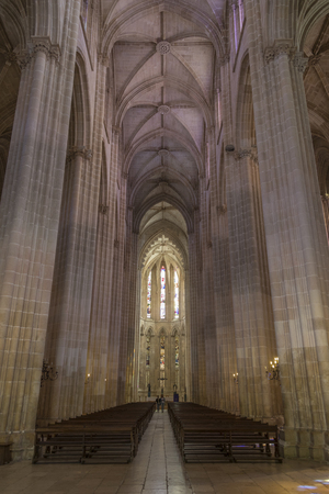Monastery of Batalha - a Dominican convent in the town of Batalha, in the Centro Region of Portugal. it was erected in commemoration of the 1385 Battle of Aljubarrota, and was the burial church of the 15th Century Aviz dynasty of Portuguese royalty. It is