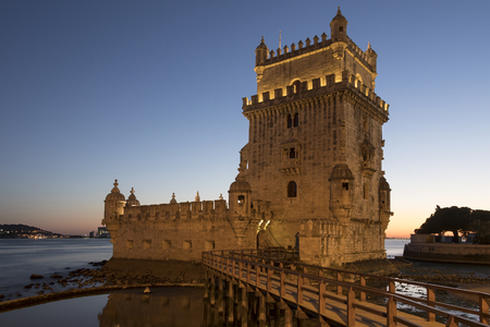 Belem Tower in Lisbon, Portugal ( Torre de Belem or the Tower of St Vincent). because of the significant role it played in the Portuguese maritime discoveries of the era of the Age of Discoveries. The tower was commissioned by King John II to be part of a