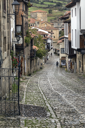 Santillana del Mar an historic town situated in Cantabria in northern Spain. It has many historic buildings.