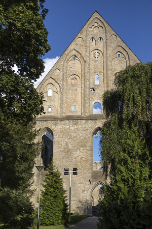 The Ruins of Pirita Convent. Pirita is a district of Tallinn in Estonia. The convent dates from 1417. It was was sacked by Russian troops under leadership of Ivan the Terrible in 1557. They looted its riches and burned it down. The convent was then abando