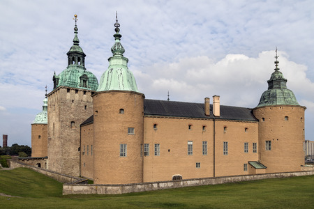 Kalmar Castle or Kalmar Slott - a castle in the city of Kalmar in the province of Smaland in Sweden. Parts of the castle date from the 12th century.