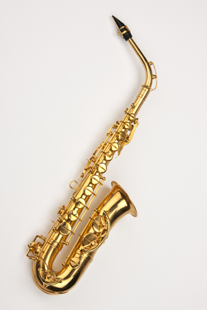 The saxophone (also referred to as the sax) is a conical-bored transposing musical instrument that is a member of the woodwind family. Saxophones are usually made of brass and played with a single-reed mouthpiece similar to that of the clarinet.