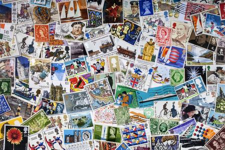 영국 우표 수집 - 우표 수집