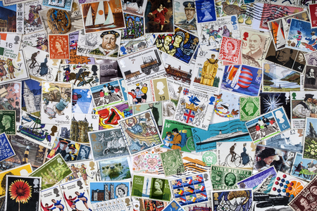 A collection of British Postage Stamps - Philately